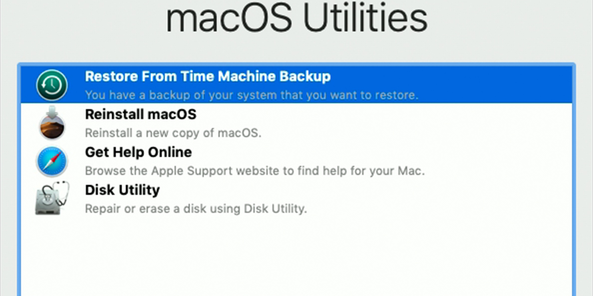 About macOS Recovery - Informatique Bluetech Inc